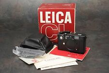 ":Leica CL ""50 Jahre"" 50th Anniversary Edition 35mm Film Rangefinder Camera LNIB"