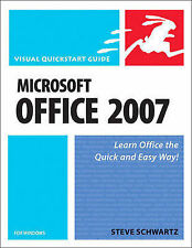 Schwartz, Steve Microsoft Office 2007 for Windows (Visual QuickStart Guides) Ver