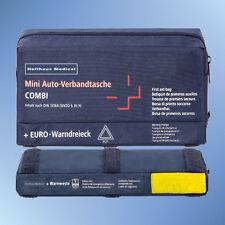 Verbandtasche Auto Mini 3 in 1 Inhalt nach DIN 13164 blau 62220 inkl. Weste gelb