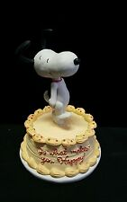 "Hallmark Peanuts Gallery 2011 Figurine ""Do What Makes You Happy"" SNOOPY"