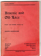 Joseph Kesselring - Arsenic And Old Lace 1948