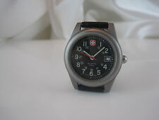Women's WENGER SWISS ARMY SAK Design Marlboro Collectors Black Dial Watch *12