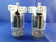 Matched pair ecc83 Valvo # 17mm # NOS # mc1/d8f/e = 1958 (9562)