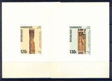 GABON ART DELUXE PROOFS RELIGIOUS CARVINGS IN WOOD