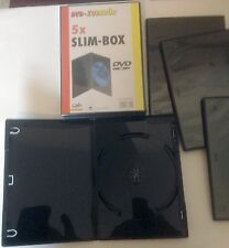 DVD/CD Hüllen Slim-Box 10 Stück