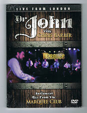 DR JOHN WITH CHRIS BARBER - IN CONCERT LIVE FROM THE MARQUEE CLUB - NEUF NEW