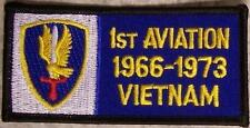 Embroidered Military Patch Vietnam Tour 1st Aviation badge NEW