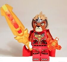 Lego Chima Lavertus Minifigure with Weapon Target Exclusive Lion