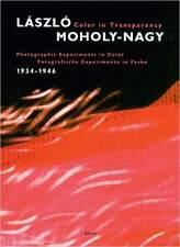 Fachbuch László Moholy-Nagy Color in Transparency STATT 49 € BAUHAUS Fotografie