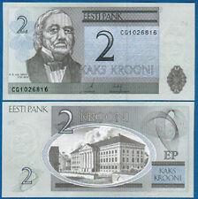 ESTLAND / ESTONIA 2 Krooni 2006  UNC  P. 85