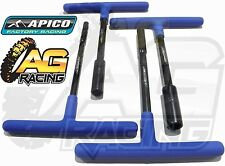 Apico Premium T Bar T-Bar Tools 6mm 8mm 10mm 12mm Set For KTM EXCF EXC-F 250 350