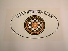 My Other Car is a Jaguar E-Type - Series 1 2 3 V12 5.3 3.8 4.2 XKE
