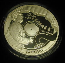 IRELAND 10 EURO SILVER PROOF 2014.  JOHN McCORMACK. TENOR.