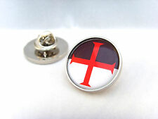 KNIGHTS TEMPLAR SHIELD CROSS CRUSADE FREEMASON LAPEL PIN BADGE TIE PIN GIFT