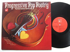 LP The International Sounds Ltd. ‎– Progressive Pop Poetry - VG++ Beatles Cover