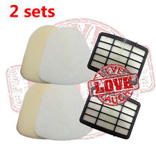 2 sets HEPA Motor & Foam Filter for Shark Navigator Life Away XFF350 NV350 NV351