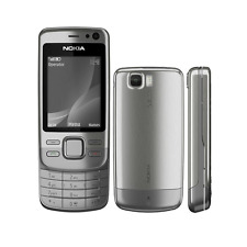 Nokia Slide 6600i Slide - Silver Steel (Unlocked) Mobile Phone - Warranty