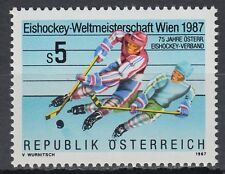 Österreich Austria 1987 ** Mi.1877 Eishockey Ice Hockey Sport Sports Winter