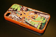 Camo Hunting I Phone 4 4S Plastic Case Custom