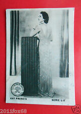 figurines actors akteurs figurine cigarettes cards cia tabacos L-3 kay francis v