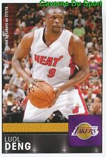 336 LUOL DENG ENGLAND LOS ANGELES LAKERS STICKER NBA BASKETBALL 2017 PANINI