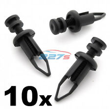 10x 9mm Front & Rear Plastic Bumper Clips- Fits Toyota MR2, Supra & Celica