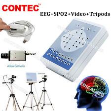 16 canali digitali attività cerebrale elettrica Mapping EEG Machine+SPO2+Video