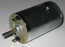 24V DC Electric Hobby Motor - 4400 RPM - 3.17mm Shaft Same Side as Terminals