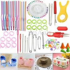 73PCS Knitting Sewing Needles Crochet Hook Tools Accessories Supplies Crafts DIY