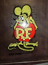 "RAT FINK 6"" Decal Hot Rod Sticker Muscle Car Street Drag Racing GREEN"