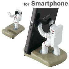Motif. Space Astronaut Figure Smartphone Stand Holder Desk Top Accessory