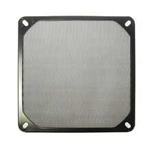 120mm AC DC Black Metal Screen Fan Filter Finger Guard 1015*