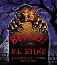Beware!: R.L. Stine Picks His Favorite Scary Stories-ExLibrary