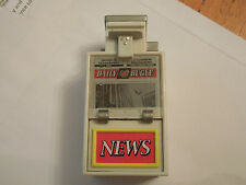 Spiderman couleur newspaper and daily bugle stand