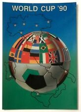 Cartolina World Cup Italia 90