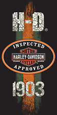 Harley Davidson 1903 Velour Beach Towel