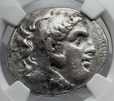 ALEXANDER III the GREAT 282BC Magnesia Tetradrachm Silver Greek Coin NGC i59932