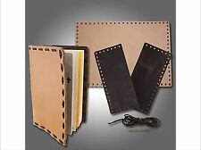 SLC DIY Scouts Leather Book Cover Kit, Camp Fire, Leather Craft, Cub Scouts