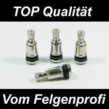 4x Metallventil Metallventile Stahlventil Ventile für Alufelgen 11,3mm BMW