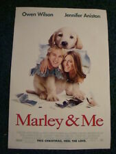 MARLEY & ME - MOVIE POSTER WITH OWEN WILSON & JENNIFER ANISTON