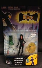 THE BATMAN SELINA KYLE CATWOMAN ACTION FIGURE W/ ACCESSORIES MATTEL  JLA VILLAIN