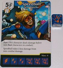 SPEEDBALL NEW WARRIOR 129/142 Civil War Dice Masters Rare
