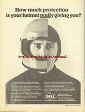 Bell Star2 Full Face Halmet Motorcycle 1980 Mag. Advert #439