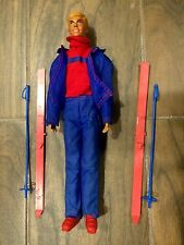 1974 Sun Valley Ken Doll, Barbie Dolls, Matel, Ski Outfit & Equipment, Toys.