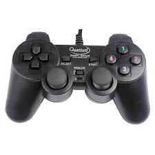 Original QUANTUM QHM7468 USB Vibration Game Pad Remote Joystick Computer Gamepad