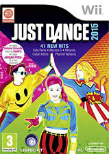 Just Dance 2015 = Wii = 41 HITS-diventare una star-registrare le proprie prestazioni! NO MANUALE