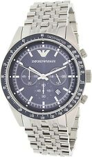 Emporio Armani Men's Tazio AR6072 Silver Stainless-Steel Quartz Watch