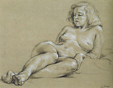Cadmus Paul Female Nude Print 11 x 14  #4770