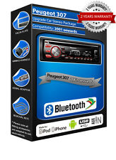 PEUGEOT 307 deh-4700bt Stereo Auto, USB CD MP3 AUX In Bluetooth KIT