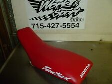 A76 HONDA TRX400EX 400EX TRX 400 EX HN1 USED OEM SEAT W/ NEW RED COVER VERY NICE